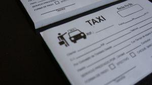 recibos de taxi