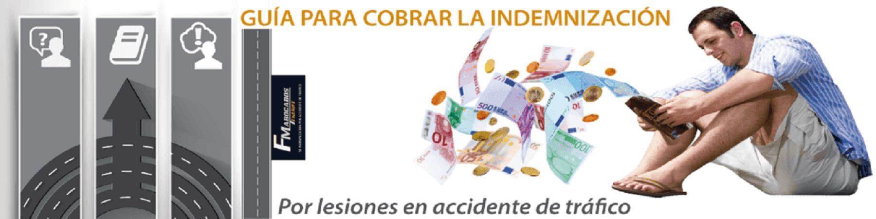 cobrar la indemnización por accidente de tráfico