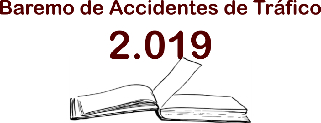 baremo de tráfico 2019 para calcular indemnización accidentes