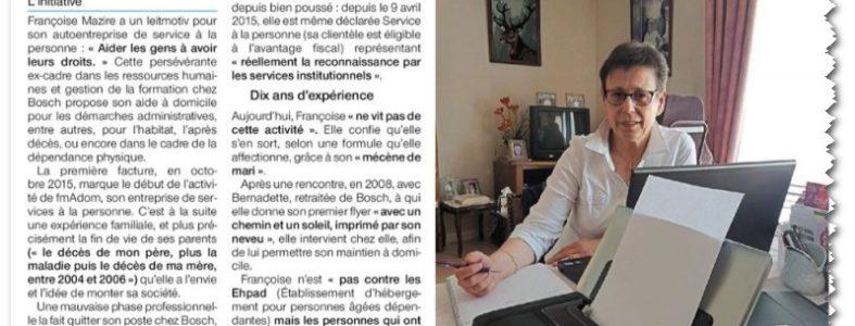 Aide Administrative à Domicile, Caen