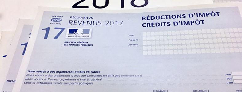 fmAdom -déclaration revenus 2018 - réductions