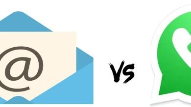 WhatsApp vs Email