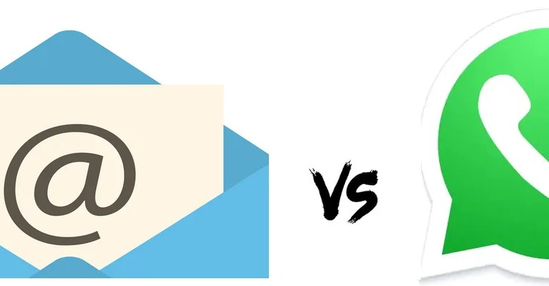 WhatsApp vs Email