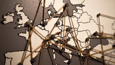 cartina europa connessioni tra stati cybersicurezza