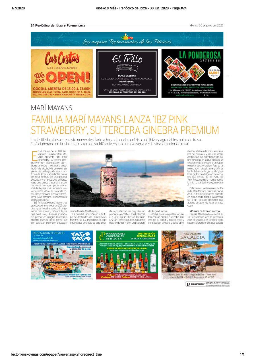 30/06/2020 - Periódico de Ibiza