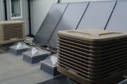 Evaporative cooling is cost effective alternative