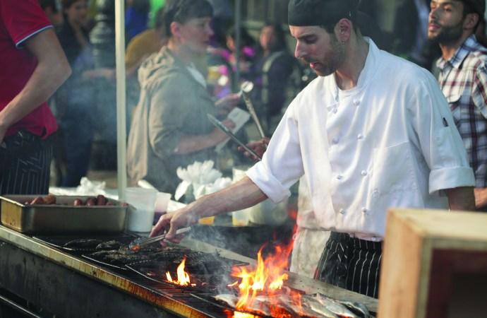 Celeb chef joins organic celebration