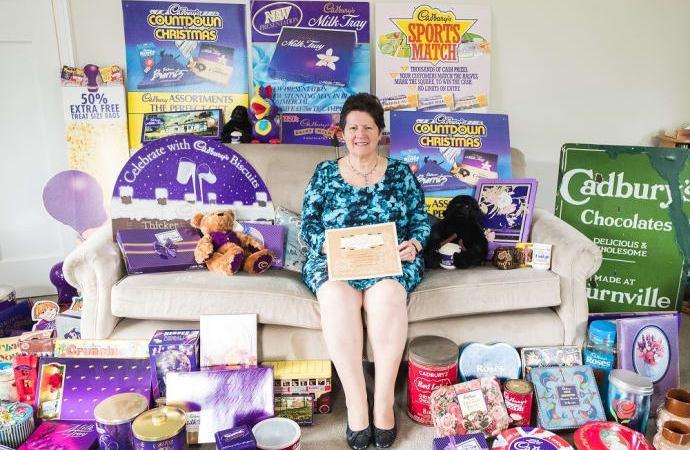 Woman unveils Cadbury chocolate memorabilia hoard