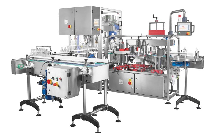 Karmelle Ltd design and manufacture complete gin bottling system