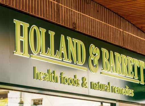 Holland & Barrett's co-pack credentials
