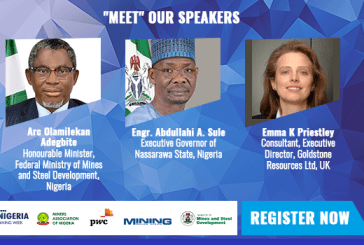 Nigerian mining minister Arc. Adegbite and Nassarawa State Governor Sule in live discussion on investment amidst COVID-19