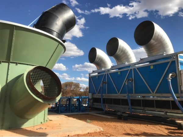 Aggreko launches new mine cooling solution