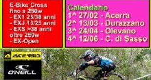 Locandina Campionato Regionale E-Bike MX 2021
