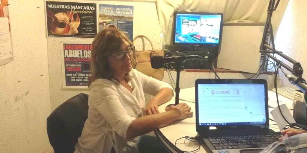 Entrevista :Alicia Laino , Concejal del HCD GV del Bloque UCR -Cambiemos en TMI acerca de la 2da Sesión Ordinaria