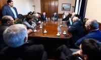 Pichetto se reunió con  referentes sindicales de la Provincia , Betanzo participó del encuentro.