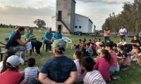 Villegas Rugby Club recibió a mas de 85 chicos de distintos establecimientos rurales