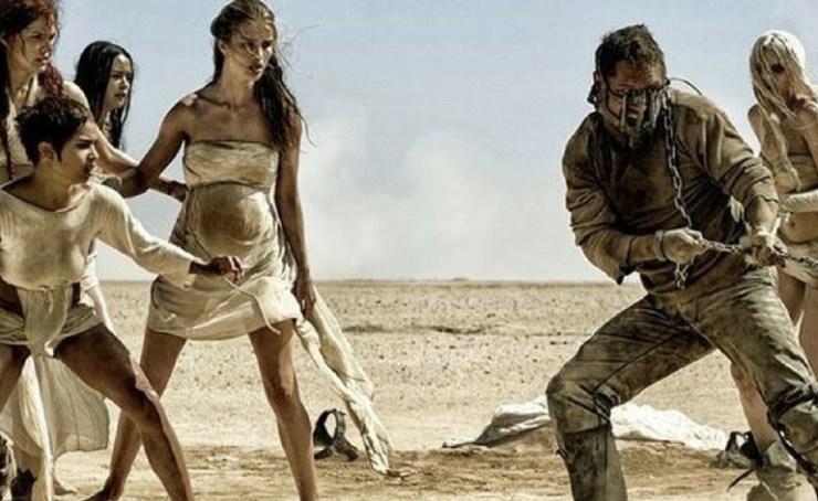 Cena do filme Mad Max