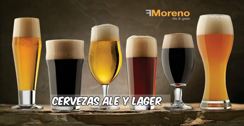Diferencia entre cerveza Lager y Ale