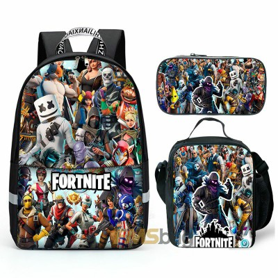 Kids Gifts Fortnite Chapter 2 Season 3 Backpack Lunch box ...