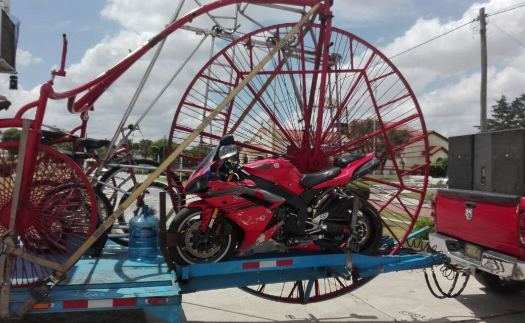 La bicicleta más grande del mundo en Carnerillo
