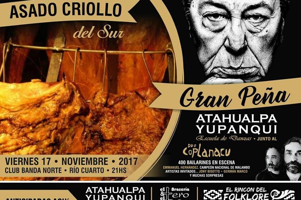 Atahualpa Yupanqui crece