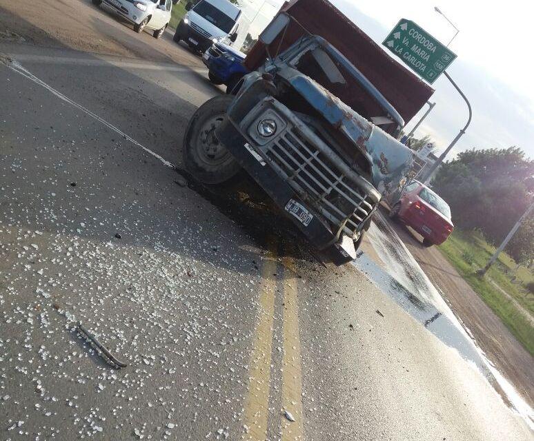 Accidente de tránsito en acceso norte de Río Cuarto