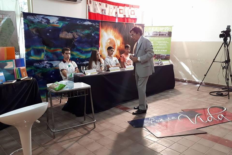 Semifinal del programa «POR LA VIDA» en el IPEA 291