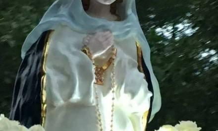 10° Aniversario de la Virgen en paraíso escondido