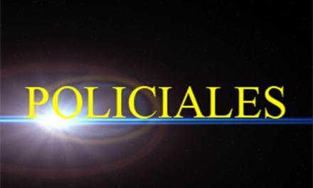 Informe policial   Resumen del  fin de semana