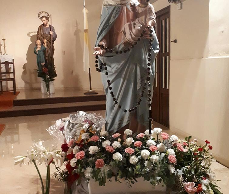 Nuestra Señora del Rosario de San Nicolás se despide hoy
