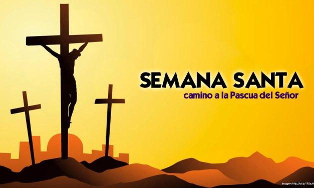 PROGRAMACIÓN DE SEMANA SANTA