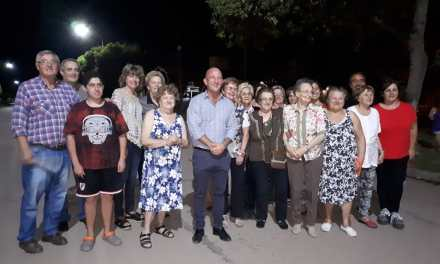 Intendente Carasso inauguró Luces Led