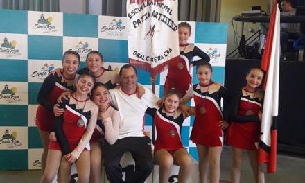 Excelente resultados de la Esc Municipal de Patín en Santa Rosa