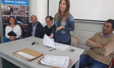El Banco de la Gente entregó 88 mil pesos a 14 beneficiarios en Cabrera