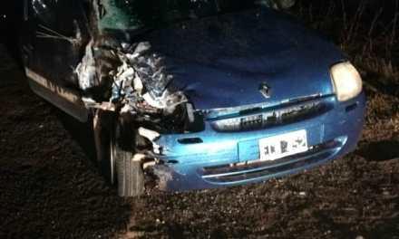 Cabrerense con lesiones graves en un accidente en Ruta 158