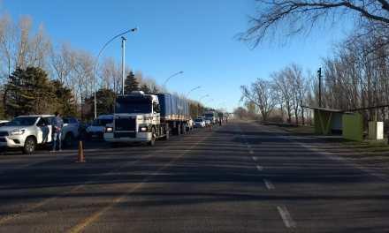 Deheza:  Corte preventivo de tránsito vehicular