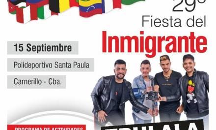 Carnerillo   29° Fiesta del Inmigrante
