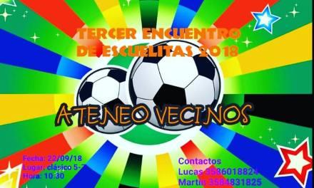 Fútbol- Encuentro de Escuelitas 2018