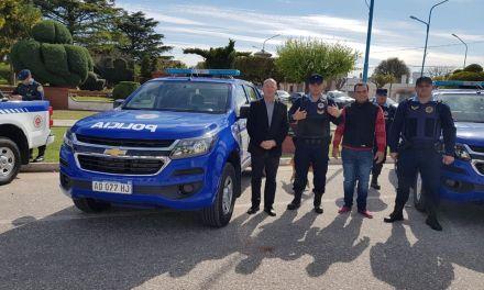 El Intendente Carasso participa de la entrega de la nueva patrulla en Reducción