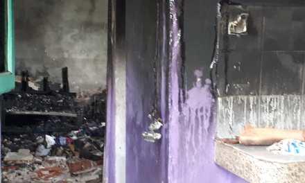 «Se quemó todo, no tienen donde vivir»