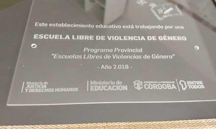 El Jardín José María Paz recibió un reconocimiento por un proyecto de ESI