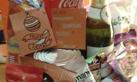 Cáritas entregará 100 bolsones navideños