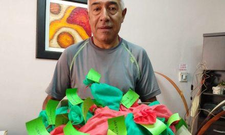 Vecina anónima donó paquetitos de golosinas a Cabrera Solidaria
