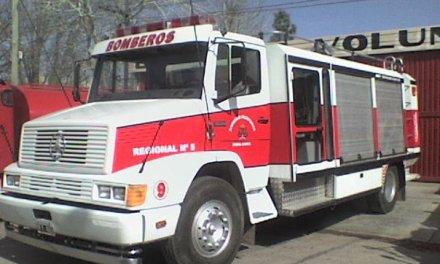 Cabrera – Principio de incendio en una caldera de pileta en un domicilio