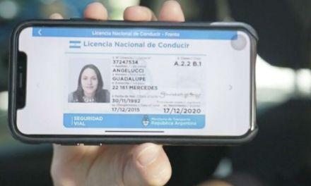 Cabrera no está adherido al sistema nacional de licencias de conducir digital