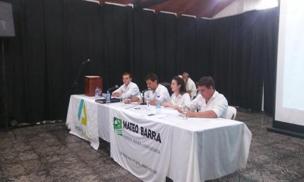 La Juventud Mateo Barra Celebró su Asamblea Anual