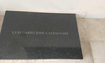 La lápida del Capitán Castagnari será colocada en el Monumento a Malvinas