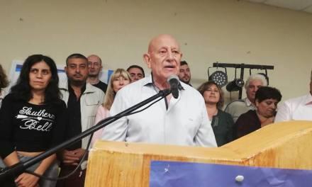 EL PJ PRESENTÓ LA LISTA QUE ACOMPAÑARÁ AL CANDIDATO A INTENDENTE, MIGUEL DÍAZ