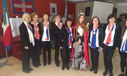 La Reina del Piemonte en el 5to Congreso de la Federación de Asociaciones Piemontesas de Argentina en la ciudad de Mendoza