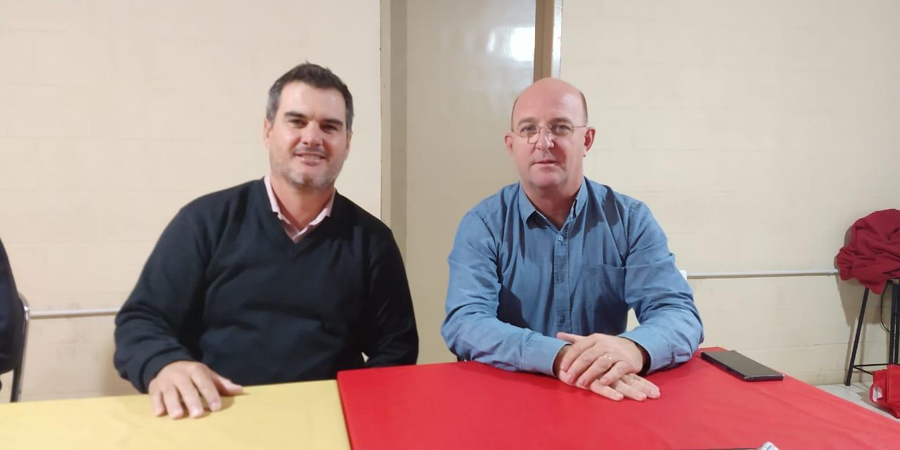 Carasso presentó al candidato a Legislador Departamental por Córdoba Cambia, Ariel Dalmasso